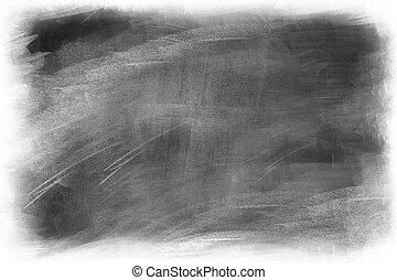 Blackboard - Chalk rubbed out on blackboard