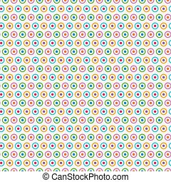 Bright colorful seamless pattern for baby style. Vector...
