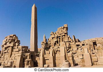 Egypt, Luxor obelisk