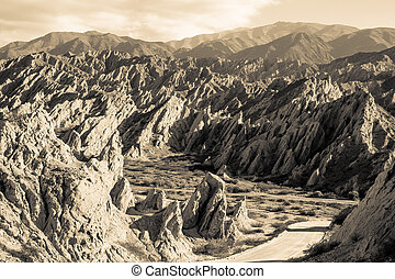Argentinian Andes - Lunar landscapes in the Argentinian...