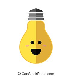 Positive feeling icon Thinking design Vector graphic -...