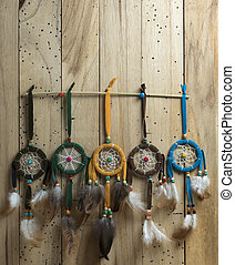 Vintage Dream Catcher colourful set