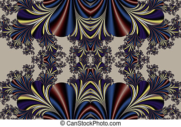 Fabulous symmetrical background. Magical Satin. You can use...