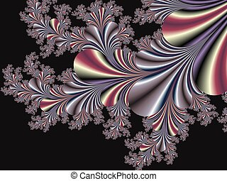 Fabulous fractal background Collection - Magical Satin You...