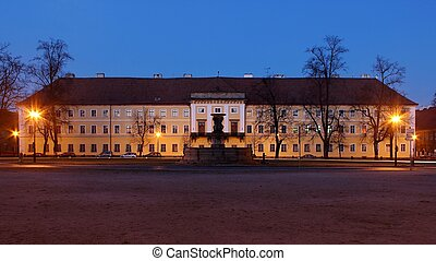 Old military headquarters