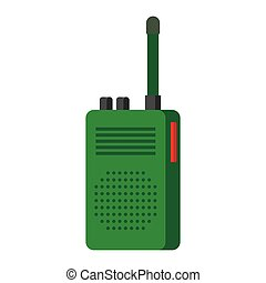 Radio set transceiver with antena - Radio transceivers....