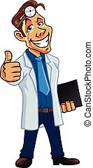 Cool Medical Doctor Cartoon