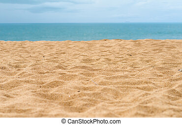 sand beach - beautiful sand beach