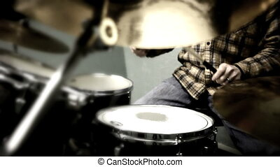 Drummer - Man playing drums