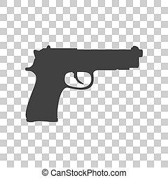 arma de fuego, señal, Ilustración, Oscuridad,...