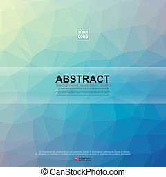 Abstract banner background Illustration eps10