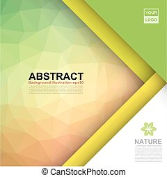 Abstract banner background .Illustration eps10