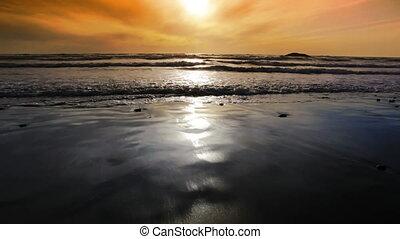 Oregon Coast Sunset - Afternoon on the Oregon coast
