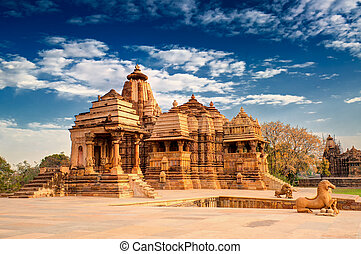 Devi Jagdambi Temple, Khajuraho., UNESCO world heritage site...