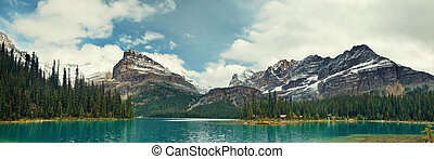 Yoho National Park panorama - Lake Ohara in Yoho National...