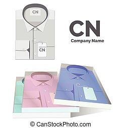 set of shirts with labels for your
