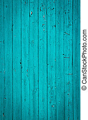turquoise old wood background