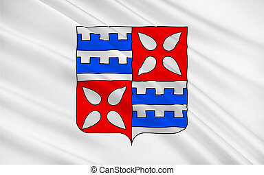 Flag of Muret, France - Flag of Muret is a commune in the...