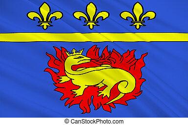Flag of Vitry-le-Francois, France - Flag of...