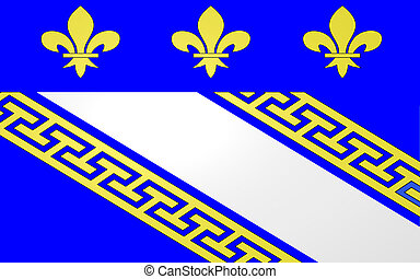 Flag of Troyes, France - Flag of Troyes is a commune and the...
