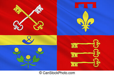 Flag of Vaucluse, France - Flag of Vaucluse is a department...