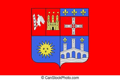 Flag of Lot-et-Garonne, France - Flag of Lot-et-Garonne is a...