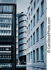 Futuristic architecture details