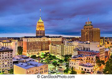 San Antonio, Texas Cityscape - San Antonio, Texas, USA...