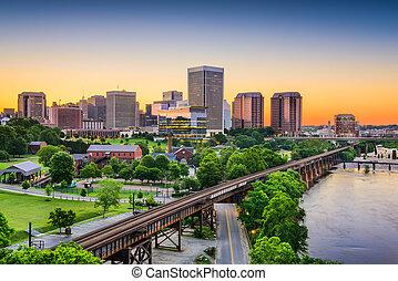 Richmond, Virginia, USA Skyline - Richmond, Virginia, USA...