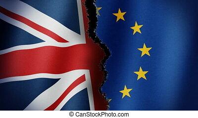 Brexit Flag Loop