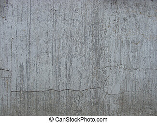 worn dirty gray wall with leak drip