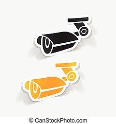 realistic design element: video surveillance