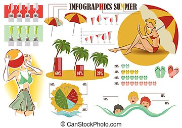 Vector stock infographics. Design elements on theme of...