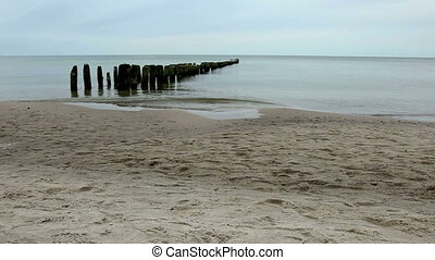 Breakwaters are structures constructed on coasts as part of...