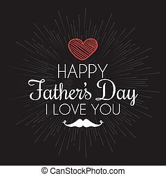 father day label - abstrac father day label on a special...