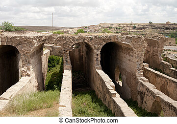 dara mardin - traditional and very ancient building dara...