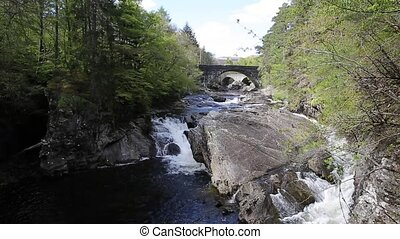 Invermoriston river both bridges - Invermoriston bridge...