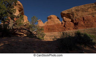 Devils Garden hoodoos Grand Staircase Escalante National...
