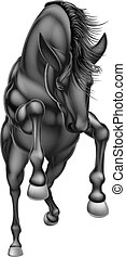Black rearing horse front 2016 A1 [Converted]