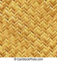 Woven basket texture seamlessly tiling rendered background...