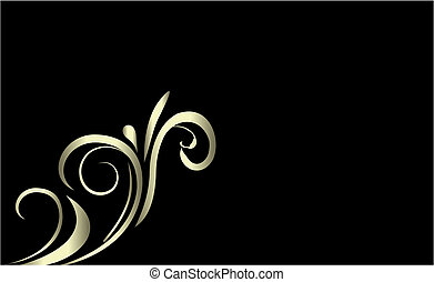 Luxury card or invitation