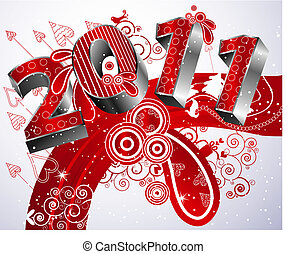 Happy new year 2011 - Festive Winter Type 2011