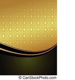 Luxury card or invitation - Vector beautiful luxury card or...