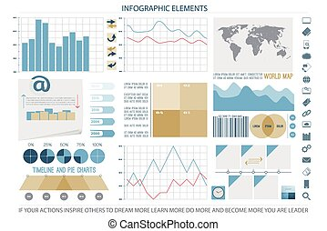 elements eleven - infographic elements, web technology icons...