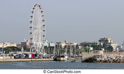 panoramic wheel Rimini Italy