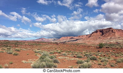 Chimney Rock Capitol Reef Wide Angle - Capitol Reef along UT...