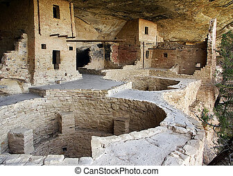 Balcony House Ruin, Mesa Verde NP - Balcony House of Mesa...