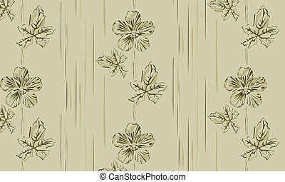 Background frame buttercup on a brown background