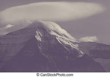 Mt.Robson - Mount Robson,  British Columbia, Canada