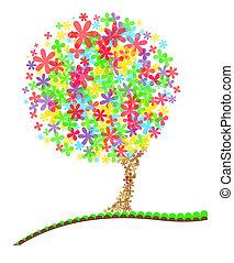 Illustration of a Summer Tree